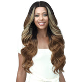 "Bobbi Boss Synthetic 5"" Deep Lace Part Lace Front Wig - MLF433 Brianne"