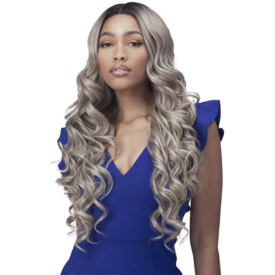 "Bobbi Boss Synthetic 4.5"" Deep Part Lace Front Wig - MLF571 Ciaran"