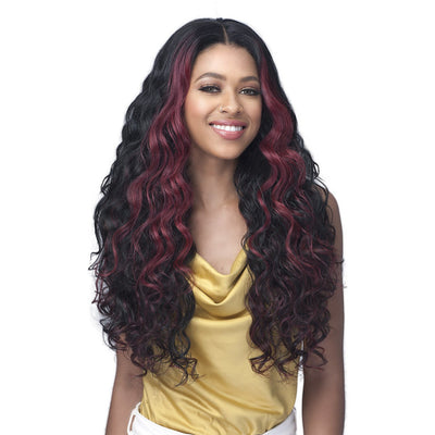 Bobbi Boss Miss Human Hair Blend One Pack Solution Weave - Natural French Wave