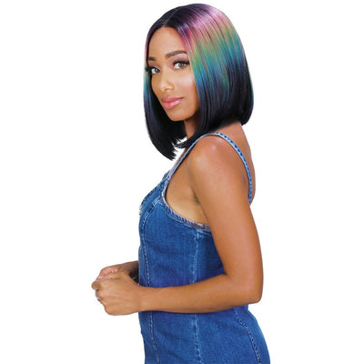 Zury Sis Beyond Synthetic Tiedye Lace Front Wig - Ben