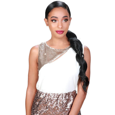 Zury Sis Beyond Synthetic Hair Lace Front Wig - BYD Pony-H IBAE