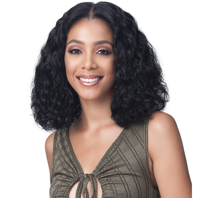 "Bobbi Boss 13"" x 5"" Glueless 100% Unprocessed Human Hair Lace Front Wig - MHLF-603 Anita"