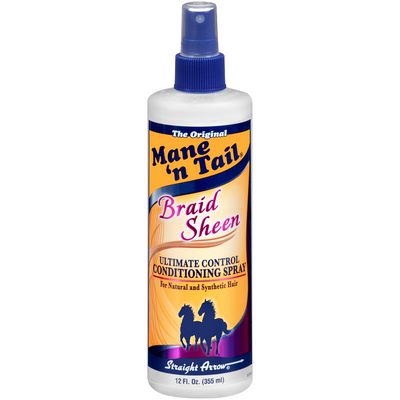 Mane N' Tail Braid Sheen Conditioning Spray 12 OZ