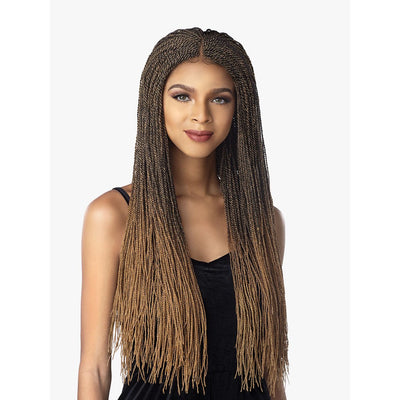 Sensationnel Synthetic Cloud 9 Hand-Braided Swiss Lace Wig – Micro Twist