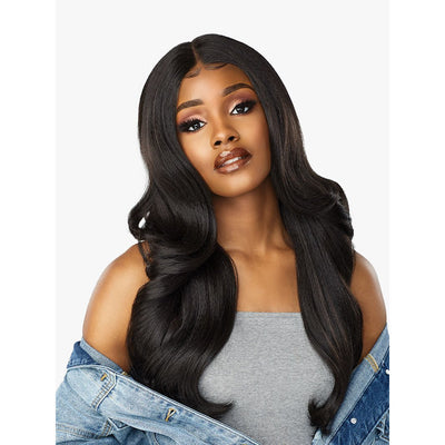 Sensationnel Empress Curls Kinks & Co. Synthetic Lace Front Edge Wig – Angel Face