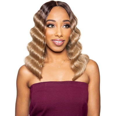 Zury Sis Beyond Synthetic HD Lace Front Wig - Crimp 14""