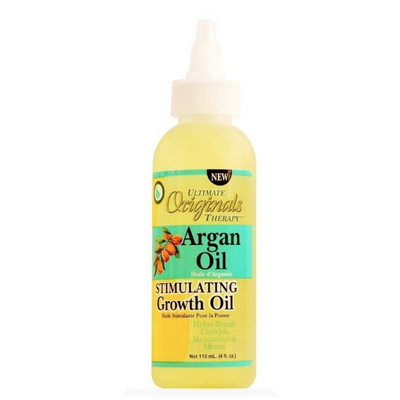 Africa's Best Originals Argan Oil Stimulating Growth Oil 4 oz