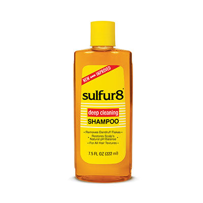 Sulfur8 Deep Cleaning Shampoo For All Hair Types 7.5 OZ