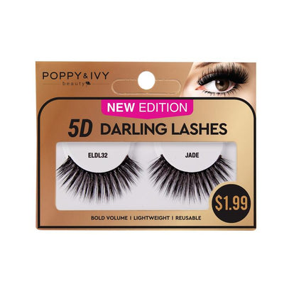 Poppy and Ivy Beauty 5D Darling Lashes - Jade #ELDL32