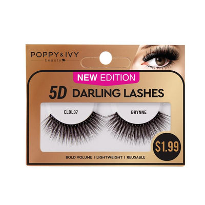 Poppy and Ivy Beauty 5D Darling Lashes - Brynne #ELDL37