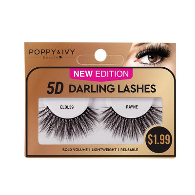 Poppy and Ivy Beauty  5D Darling Lashes - Rayne #ELDL39