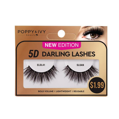 Poppy and Ivy  Beauty 5D Darling Lashes - Sloan #ELDL41