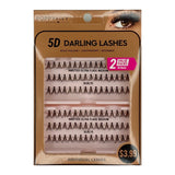 Poppy and Ivy Beauty 5D Darling Individual Lashes - 2X Knotted Ultra Flare Medium#ELDL75