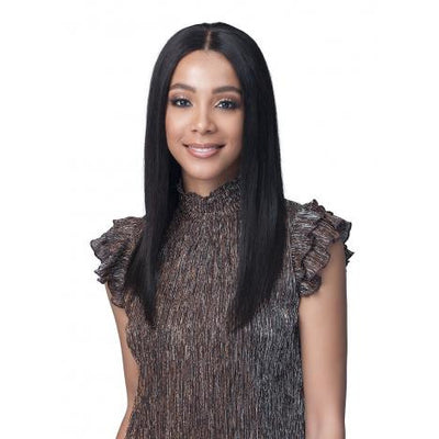 "Bobbi Boss 100% Unprocessed Virgin Remy Human Hair 13"" X 4"" Bundle Hair Lace Frontal Wig - MHLF527 Jayne"