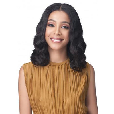 "Bobbi Boss 13"" x 5"" Glueless 100% Unprocessed Human Hair Lace Front Wig - MHLF-602 Ariana"