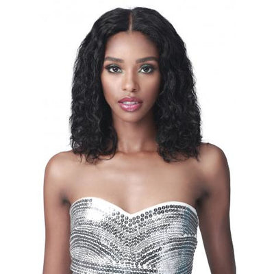 "Bobbi Boss 13"" x 6"" Glueless 100% Unprocessed Human Hair Lace Front Wig - MHLF-605 Gemma"