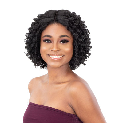 FreeTress Equal Synthetic Natural Me Lace & Lace Front Wig – Natural Flexi Set