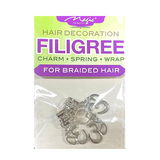 Magic Collection Filigree Hair Tube With Egyptian Accessory #FILICHA21 #ASST