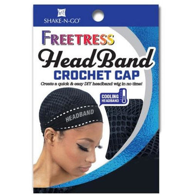 Freetress Head Band Crochet Cap