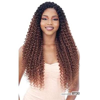 Model Model Glance Braid - 3X-Pre Stretched Water Wave 22""