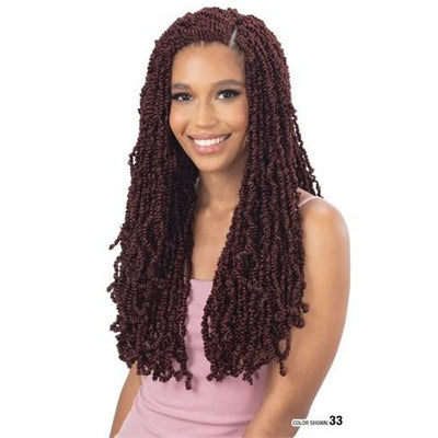 Model Model Synthetic Braids - 3X Virtue Twist 16""