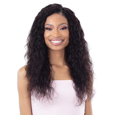 Shake-N-Go Ibiza Wet & Wavy 100% Virgin Human Hair Bundle Weave - Loose Deep 3PCS