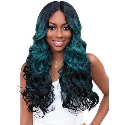 Janet Collection Melt Extended Part Synthetic Lace Front Wig - Jada