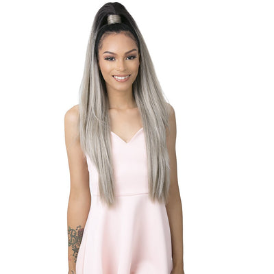 Goldntree Synthetic Half Wig & Pony Wrap - High & Low 1