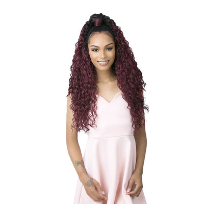 Goldntree By It's A Wig! Synthetic Half Wig & Pony Wrap - High & Low 3