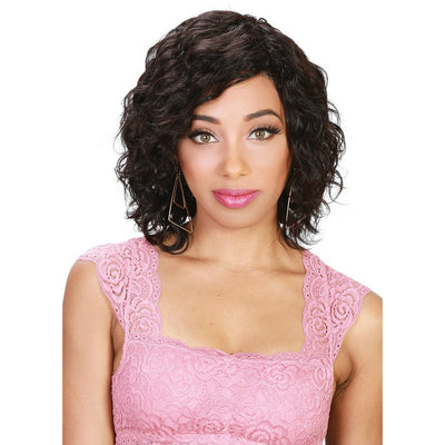 Zury Sis Wet & Wavy 100% Brazilian Human Hair Wig – Eco