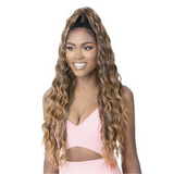 Goldntree By It's A Wig! Synthetic Half Wig & Pony Wrap - High & Low 5
