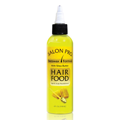 Salon Pro Beeswax W/ Shea Butter Hair Food 4 OZ