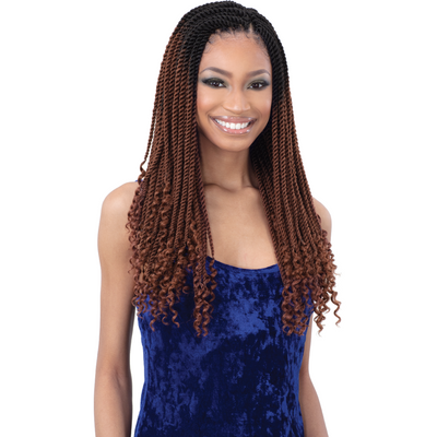 Freetress Synthetic Braids - 3X Gorgeous Twist 18""