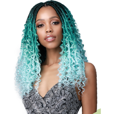 Bobbi Boss Synthetic Crochet Braids - 2X Soul Locs Deep Curl Boho Style 18""