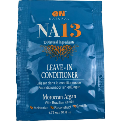 Organic Natural NA13 Leave In-Conditioner Moroccan Argan with Brazilian Keratin 1.75 OZ