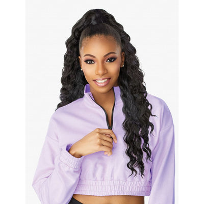 Sensationnel Instant Up & Down Half Wig & Pony Wrap - UD 009