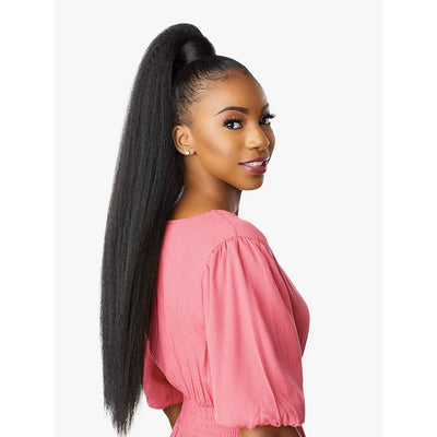 Sensationnel Instant Pony Wrap Synthetic Ponytail - Kinky Straight 30""
