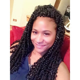 Janet Collection Crochet Synthetic Braids – Passion Twist Braid 18""