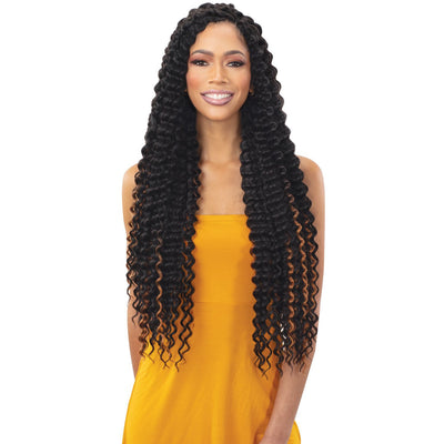 FreeTress Synthetic Crochet Braids - Deep Twist Extra Long