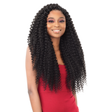 FreeTress Synthetic Crochet Braids - 3X Pearl Curl 18""