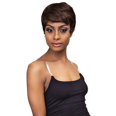 Janet Collection Lavish 100% Human Hair Wig - Geneva