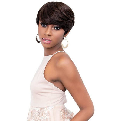 Janet Collection Lavish 100% Human Hair Wig - Mary Jay