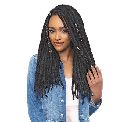 "Janet Collection 100% Human Hair Locs - Loc-N-Roll 12""-18"""