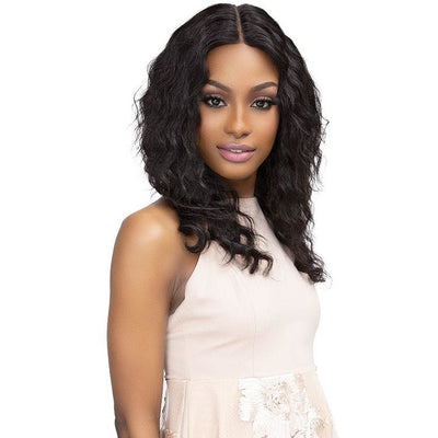 Janet Collection HD Luscious 100% Natural Virgin Indian Remy Wet & Wavy Luxury Edition Lace Wig - Teyana