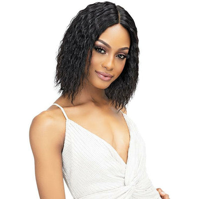 Janet Collection Luscious 100% Natural Indian Virgin Remy Wet & Wavy Luxury Edition Wig - Riri