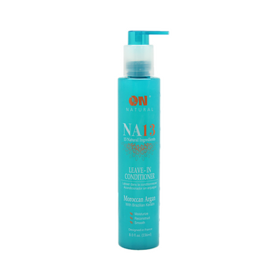 Organic Natural NA13 Leave In-Conditioner Moroccan Argan with Brazilian Keratin 8 OZ