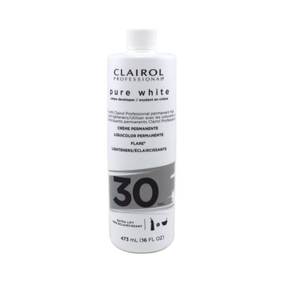 Clairol Professional Pure White 30 Volume Creme Developer 16 OZ