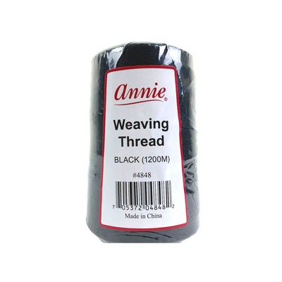 Annie Jumbo Weaving Thread 1200M #4848 Black