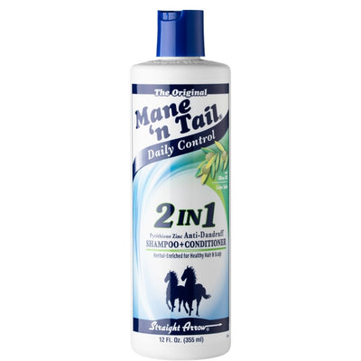 Mane N' Tail Daily Control 2-in-1 Shampoo & Conditioner 12 OZ