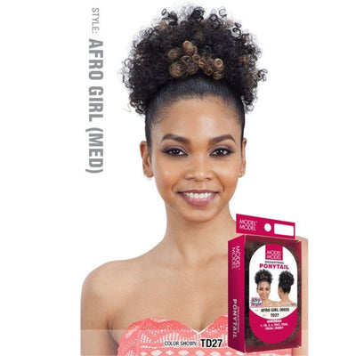 Model Model Drawstring Ponytail - Afro Girl (Med)